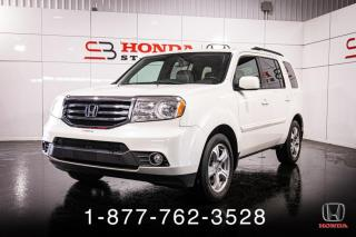Used 2015 Honda Pilot EX-L + DVD + TOIT + CUIR + AWD + WOW! for sale in St-Basile-le-Grand, QC