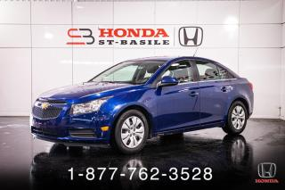 Used 2013 Chevrolet Cruze LT + TURBO + CRUISE + AUTO + WOW! for sale in St-Basile-le-Grand, QC