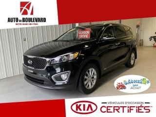 Used 2016 Kia Sorento LX+ 3,3L V6 AWD 7X PASS CAPACITÉ 5000LBS for sale in Notre-Dame-des-Pins, QC
