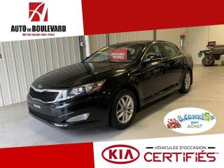 Used 2013 Kia Optima LX AUTO BAS KILO 8XMAGS 8XPNEUS for sale in Notre-Dame-des-Pins, QC
