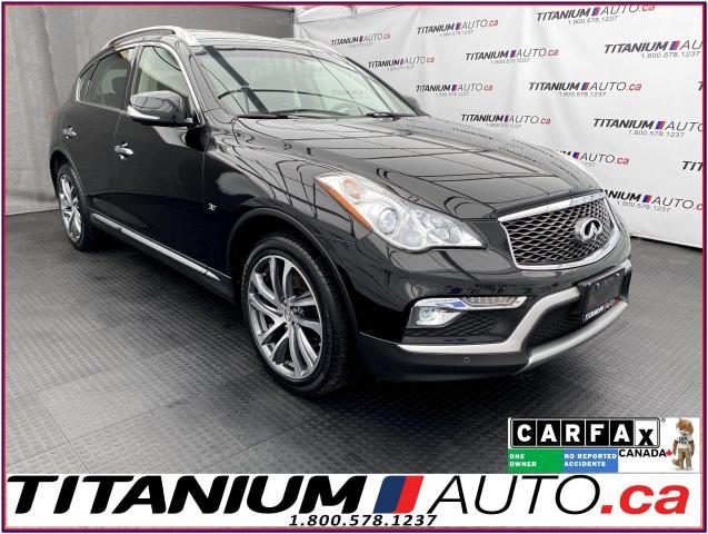 2016 Infiniti QX50 AWD+GPS+360 Camera+Bose Sound+HID & LED Lights+XM