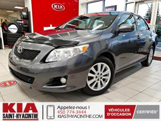 Used 2010 Toyota Corolla LE ** GR ÉLECTRIQUE + A/C for sale in St-Hyacinthe, QC