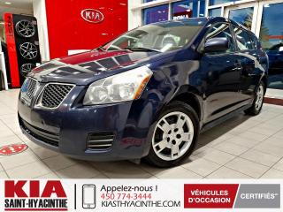 Used 2010 Pontiac Vibe AWD / AUTOMATIQUE for sale in St-Hyacinthe, QC