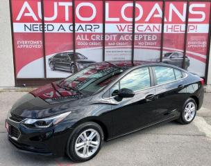 Used 2017 Chevrolet Cruze LT-ALL CREDIT ACCEPTED for sale in Toronto, ON