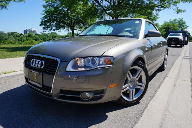 2007 Audi A4 LOW KM'S / CONVERTIBLE / IMMACULATE / NO ACCIDENTS
