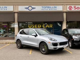 Used 2017 Porsche Cayenne S e-Hybrid Platinum Edition for sale in Vaughan, ON