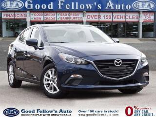 Used 2016 Mazda MAZDA3 GS MODEL, 4CYL 2.0L, 2.0L SKYACTIV, MOONROOF for sale in Toronto, ON