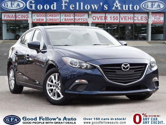 2016 Mazda MAZDA3 GS MODEL, SKYACTIV, POWER MOONROOF WHIT RETRACTABL