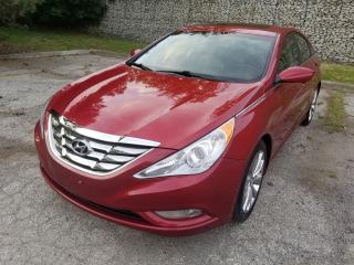 Used 2013 Hyundai Sonata SE,LEATHER, SUNROOF, ALLOY WHEELS, NO ACCIDENT for sale in Mississauga, ON