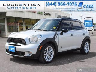 Used 2013 MINI Cooper Countryman S!!  AWD!!  MANUAL!! for sale in Sudbury, ON