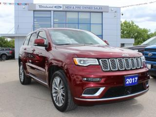 Used 2017 Jeep Grand Cherokee Summit CLEAN CARFAX | 1 OWNER for sale in Winnipeg, MB