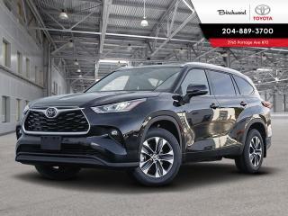 New 2020 Toyota Highlander XLE STD PKG W/CARGO LINER for sale in Winnipeg, MB