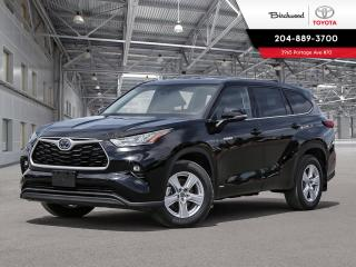 New 2020 Toyota Highlander Hybrid LE STD PKG W/CARGO for sale in Winnipeg, MB