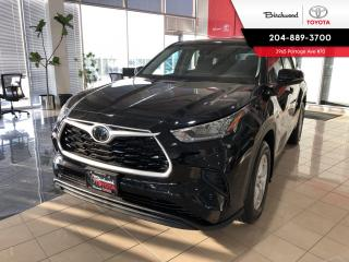 New 2020 Toyota Highlander LE AWD-YEAR END PRICE! for sale in Winnipeg, MB