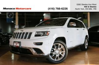 Used 2014 Jeep Grand Cherokee SUMMIT 4WD - ACTIVE CRUISE|PANO|NAV|BACKUP for sale in North York, ON