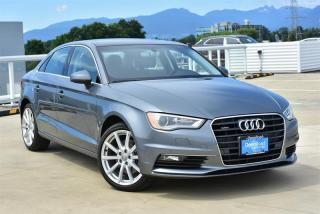 Used 2016 Audi A3 2.0T Technik quattro 6sp S tronic for sale in Burnaby, BC