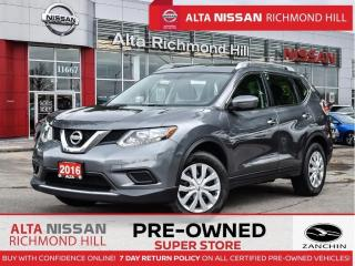 Used 2016 Nissan Rogue S   Keyless Entry   Bluetooth    AC   Back-UP for sale in Richmond Hill, ON