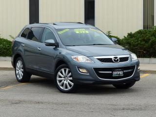 Used 2010 Mazda CX-9 AWD,GT,LEATHER,NAV,REAR-CAM,FULLY LOADED,CERTIFIED for sale in Mississauga, ON