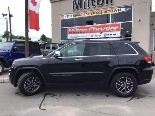 Used 2019 Jeep Grand Cherokee LIMITED 4X4|LEATHER|SUNROOF|NAVIGATION|SAFETY TECH for sale in Milton, ON