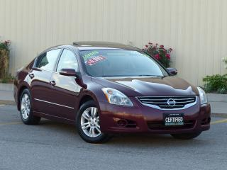 Used 2011 Nissan Altima LEATHER,2.5SL,REAR-CAM,FULL LOADED,CERTIFIED READY for sale in Mississauga, ON
