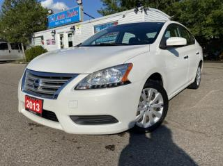 Used 2013 Nissan Sentra 4dr Sdn ACCIDENT FREE * one OWNER CERTIFIED for sale in Brampton, ON