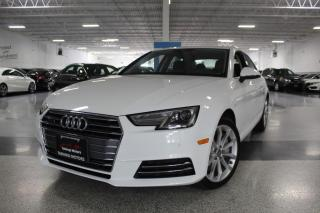 Used 2017 Audi A4 PROGRESSIV I NO ACCIDENTS I NAVIGATION I SUNROOF I REAR CAM for sale in Mississauga, ON