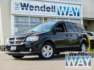 Used 2019 Dodge Grand Caravan Crew Plus DVD/NAV for sale in Kitchener, ON