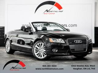 Used 2012 Audi A5 Cabriolet|Premium|backup Camera|Heated Leather for sale in Vaughan, ON
