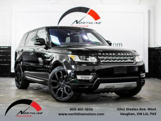Used 2016 Land Rover Range Rover Sport Td6 HSE Navigation Heads Up Disp Soft Close Doors LDW for sale in Vaughan, ON