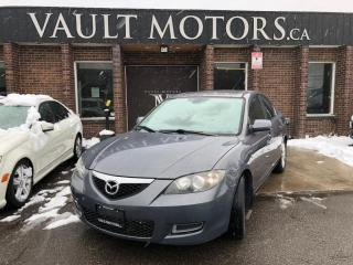 Used 2007 Mazda MAZDA3 4dr Sdn 1 YEAR ENGINE/TRANSMISSION WARRANTY INCLUDED for sale in Brampton, ON
