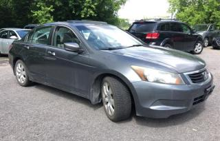 Used 2008 Honda Accord 4dr I4 Auto EX-L 1 YEAR ENGINE/TRANSMISSION WARRANTY INCLUDE for sale in Brampton, ON