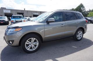 Used 2012 Hyundai Santa Fe V6 LIMITED 4WD CERTIFIED 2YR WARRANTY *FREE ACCIDENT* SUNROOF BLUETOOTH HEATED SEATS for sale in Milton, ON