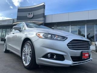 Used 2014 Ford Fusion SE ECO-BOOST LEATHER SUNROOF ONLY 90KM for sale in Langley, BC