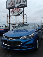 Used 2017 Chevrolet Cruze HB LT for sale in Windsor, ON