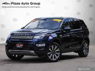 Used 2017 Land Rover Discovery Sport HSE Luxury | CLEAN | ONE OWNER | 7 DAY EXCHANGE for sale in Richmond Hill, ON