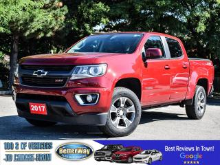 Used 2017 Chevrolet Colorado 4WD Z71 |4X4 | NAVIGATION | NO ACCIDENTS for sale in Stoney Creek, ON