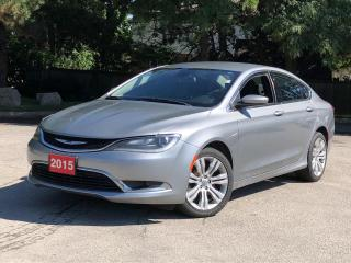 Used 2015 Chrysler 200 Limited |1 OWNER | LOW PAYMENTS!! for sale in Stoney Creek, ON