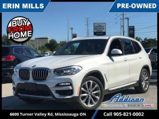 Used 2019 BMW X3 xDrive 30i Sports Activity Vehicle  NAVI|PANO ROOF|CARPLAY|LOADED| for sale in Mississauga, ON