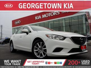 Used 2016 Mazda MAZDA6 GX   36K KM   HTD SEATS   ALLOYS   for sale in Georgetown, ON