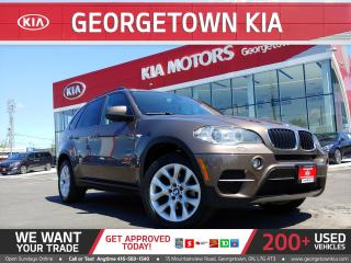 Used 2013 BMW X5 xDrive35i | NAVI | PANO ROOF | B/U CAM |H/K STEREO for sale in Georgetown, ON