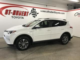 Used 2017 Toyota RAV4 Hybrid HYBRIDE, XLE for sale in St-Hubert, QC