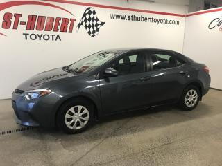 Used 2015 Toyota Corolla Man CE, A/C for sale in St-Hubert, QC