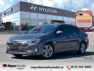 Used 2020 Hyundai Elantra Preferred  - Low Mileage for sale in Kanata, ON