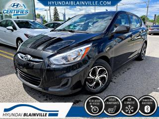 Used 2015 Hyundai Accent GL, AUTO, BLUETOOTH, MAGS, BANCS CHAUFFA for sale in Blainville, QC