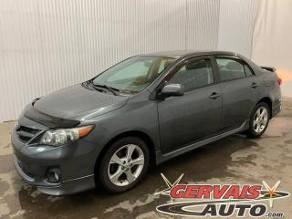 Used 2012 Toyota Corolla S A/C MAGS *Bas Kilométrage* for sale in Trois-Rivières, QC