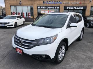 Used 2012 Honda CR-V 2WD 5dr EX-SUNROOF- CLEAN CARFAX for sale in North York, ON