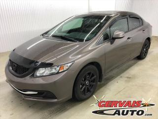 Used 2013 Honda Civic LX MAGS SIÈGES CHAUFFANTS *Transmission Automatique* for sale in Shawinigan, QC