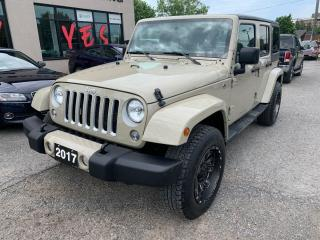 Used 2017 Jeep Wrangler Unlimited Sahara for sale in Peterborough, ON