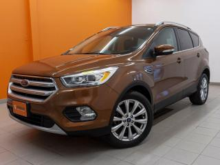 Used 2017 Ford Escape TITANIUM *TOIT PANO* NAVI *SIEGES CHAUFF* PROMO for sale in St-Jérôme, QC