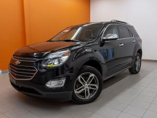 Used 2017 Chevrolet Equinox LTZ PREMIER AWD *CAMERA* SIEGES CHAUF *CUIR* PROMO for sale in St-Jérôme, QC
